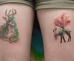 forest and tatoo image