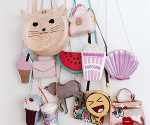 bag, cat, and cool image