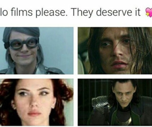 Marvel, black widow, and funny image