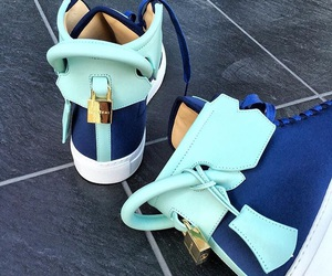 blue, buscemi, and shoes image