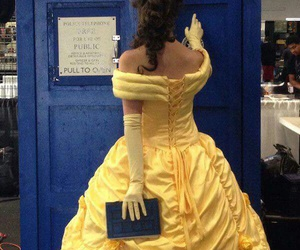 belle, doctor who, and fandom image