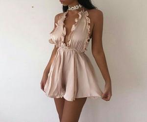 dress, girl, and body image