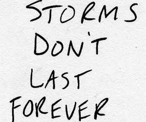 quotes, storm, and forever image