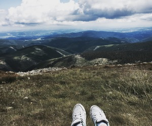 legs, chill, and mountain image