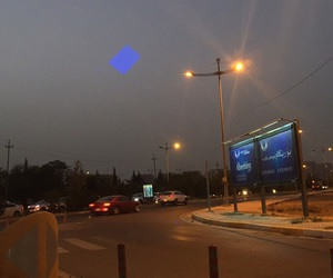 blue, roads, and traffic image