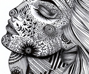 zentangle, art, and draw image