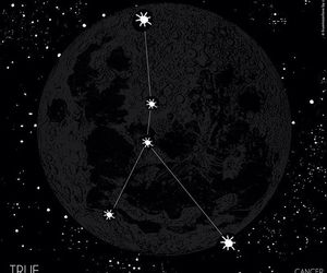 cancer, stars, and zodiac image