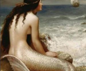beautiful, mermaid, and fantasie image