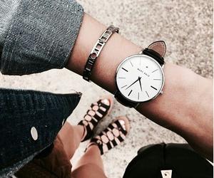 girl, watch, and fashion image