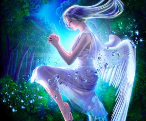 angel and fantasy image