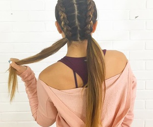 hair, cassey ho, and blogilates image