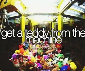 bucket list, teddy, and before i die image