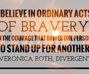 book, bravery, and courage image