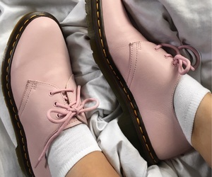 baby pink, docs, and pink image