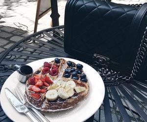 chanel, bag, and food image