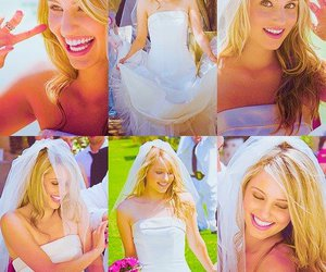 glee, wedding, and dianna agron image