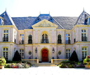 house, mansion, and classy image