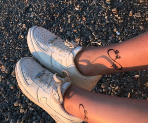 beach, forever, and shoes image