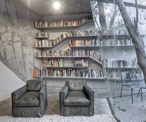 architecture, books, and Houses image