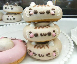 food, cute, and donuts image