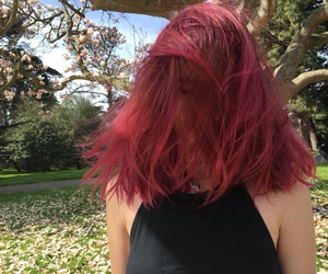 hair, red, and tumblr image