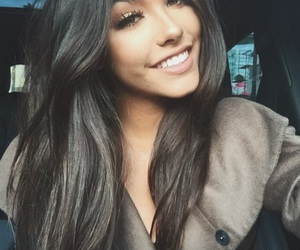 beauty, smile, and madisonbeer image