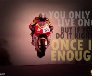 inspire, motorcycle, and quotes image