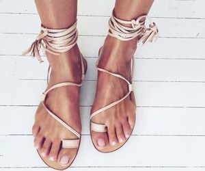 summer, shoes, and fashion image