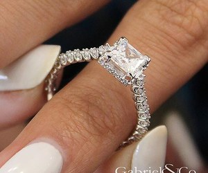 diamonds, jewelry, and ring image