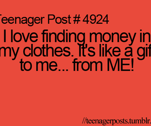 money, gift, and teenager post image