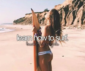 surf, goals, and bucketlist image