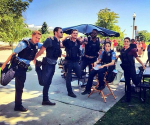 roman, burgess, and chicago pd image