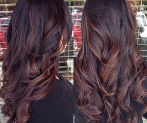 hair, brown, and hairstyle image