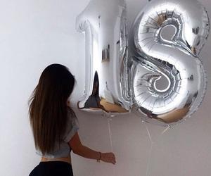 hair, girl, and birthday image