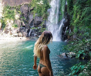 bikini, girl, and travel image