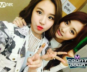 twice, tzuyu, and chaeyoung image