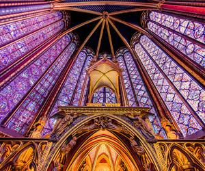 paris, france., and sainte chapelle image