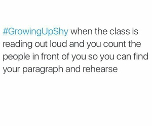 class, funny, and reading image