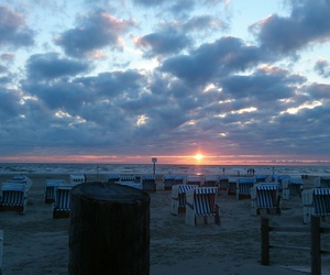 nature, nordsee, and sea image