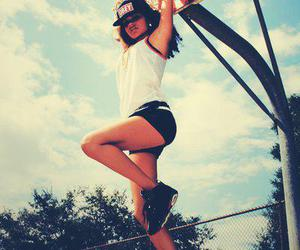 girl, new era, and obey image