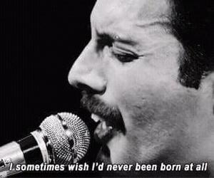 Queen, Freddie Mercury, and bohemian rhapsody image