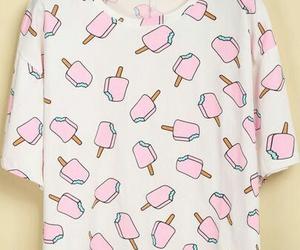 fashion, pink, and ice cream image
