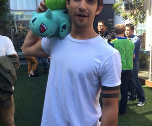 tyler posey, teen wolf, and pokemon image