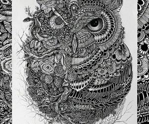 art, black, and bonito image