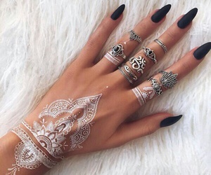 fancy, glamour, and henna image