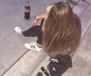 cocacola and shoes adidas image