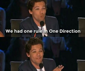 one direction, dance, and louis image