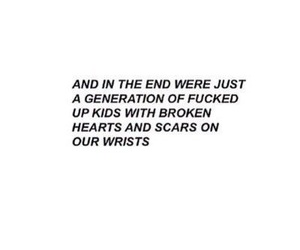 quote, generation, and sad image