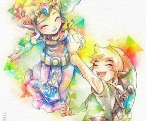 link, zelda, and Legend of Zelda image