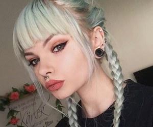 girl, grunge, and piercing image